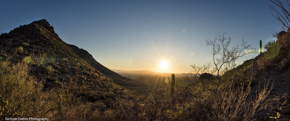 Gates Pass sunset - one of a few favorite captures in Tucson. <3