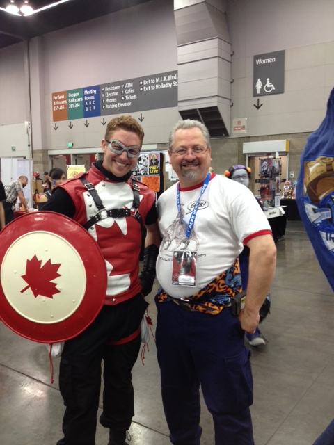 Capt Canada and Jay Larsen at RCCC 2014