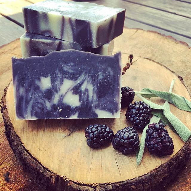 New scent from Nature's Kisses Aromatherapy: Blackberry Sage 🌿