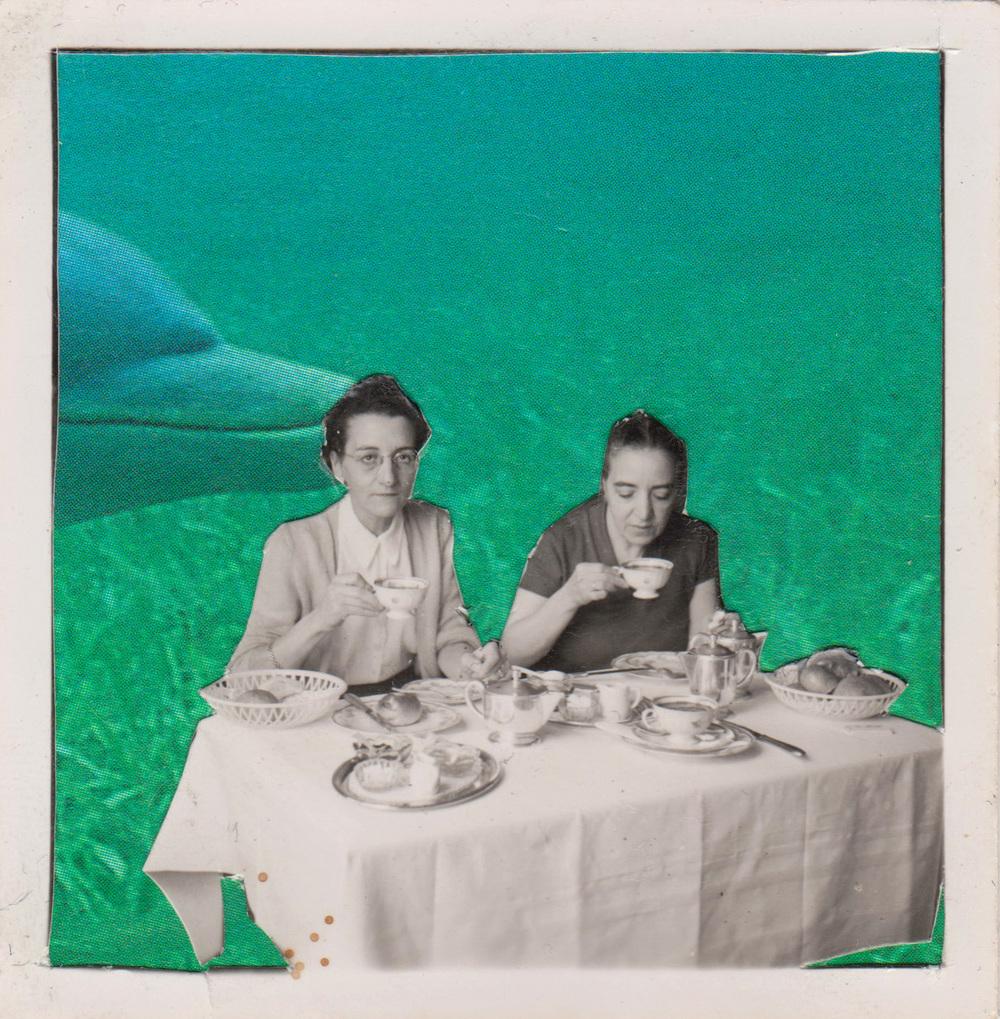Underwater tea, 2016