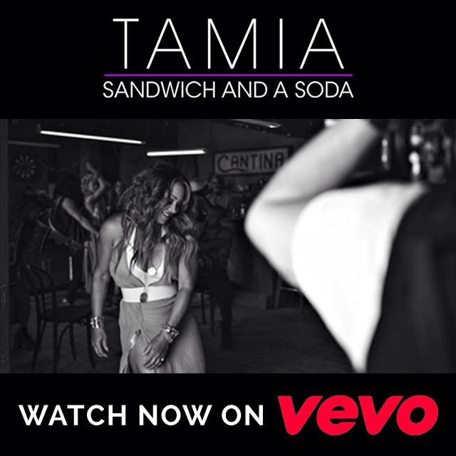 """""""Sandwich And A Soda"""" now http://smarturl.it/SandwichandaSoda   Listen on Spotify http://smarturl.it/sSandwichandaSoda  The new single from forthcoming album Love Life available everywhere June 9th  More from Tamia:  http://www.tamiaworld.com   http://facebook.com/realtamiaworld   http://twitter.com/realtamiaworld   http://instagram.com/realtamiaworld"""
