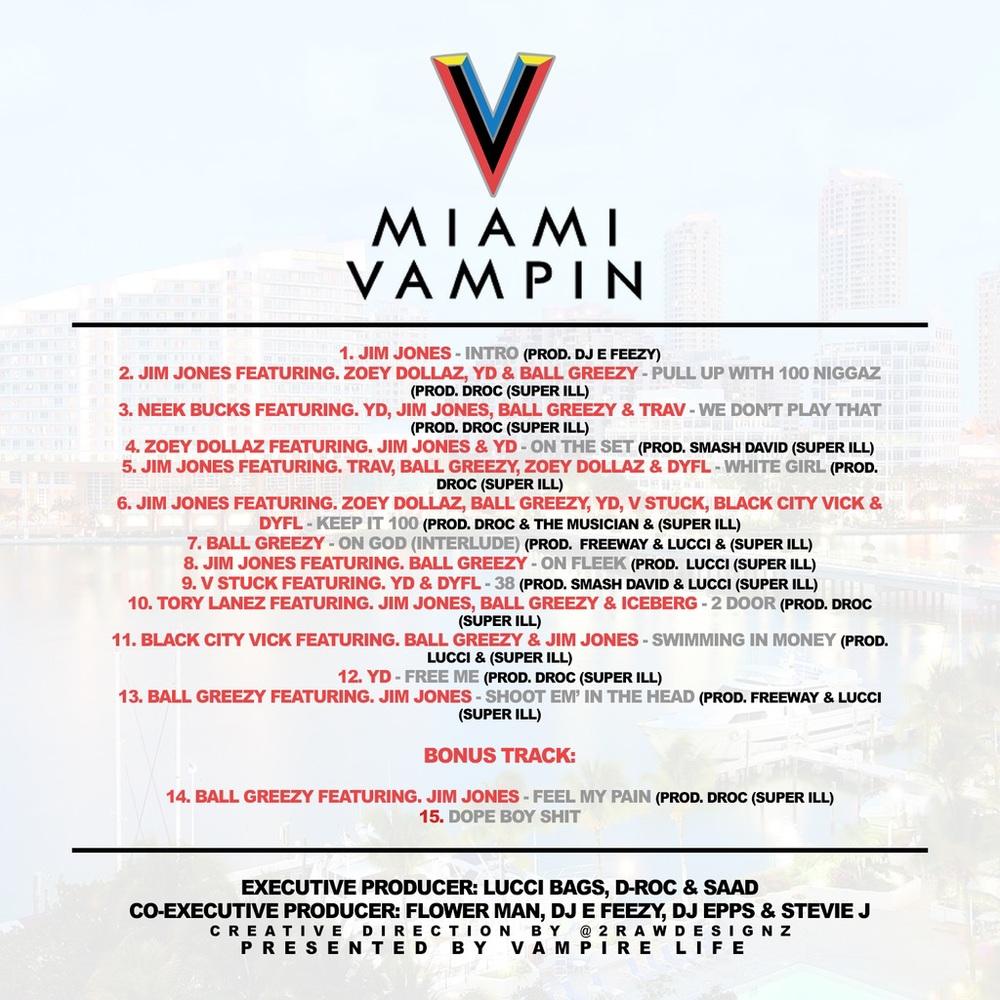 Jim Jones   IG: @JimJonescapo  #VampRecords   #Vampire Life Presents   #MiamiVampire