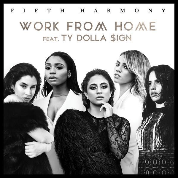 """Fifth Harmony ft Ty Dolla $ign this collaboration straight off of Epic Records has the ladies and Fellas buzzing about """" Work From Home """" gaining major AirPlay in mixshows on the radio, it's also being requested in the clubs! This dance track is fire, and the music video well speaks for it's self!"""