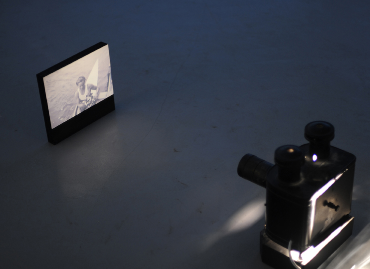 'Moonlight' 2009. Magic Lantern, MIixed Media and Soundwork