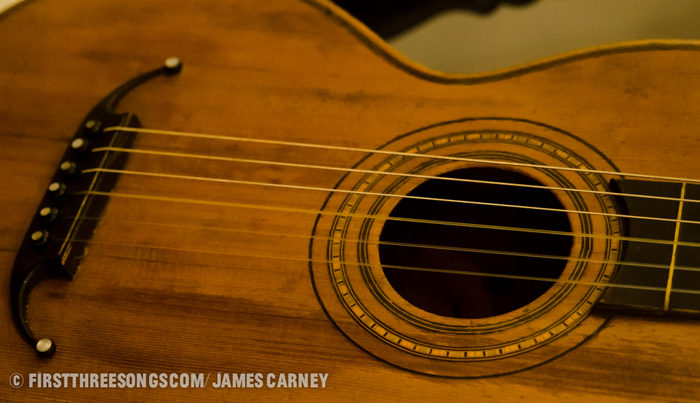 James Joyce's guitar