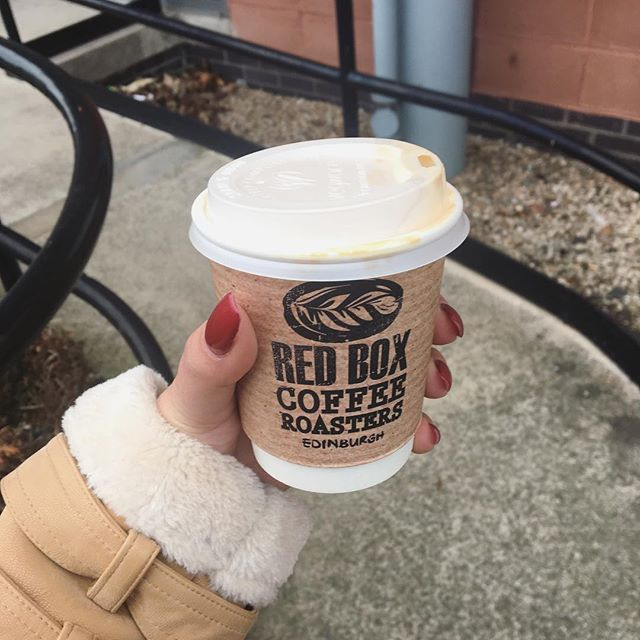 No longer buying into the brands of costa and Starbucks and enjoying coffee that doesn't taste crappy from our new local coffee shop