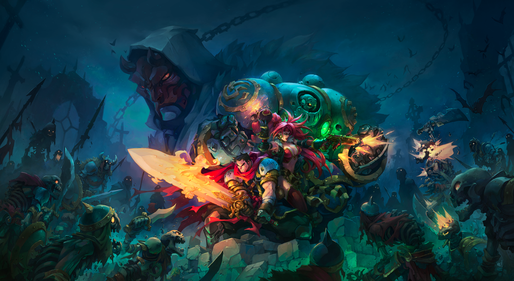 Battle Chasers: Nightwar - Key Art #2 - Variant 1 (Grace Liu)