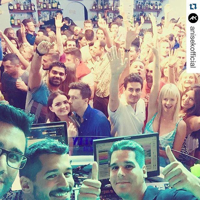 #Repost @anisekofficial ・・・ DJ Booth selfie in #Mykonos   Special thanks to #monsterselfiecase for making this photo happen. #newsingle #intotheunknown #eurorease @john_aslanis #mirrorselfie #selfie #monsterproducts #canyourcasedothis #skandinavianbar #mykonos2015