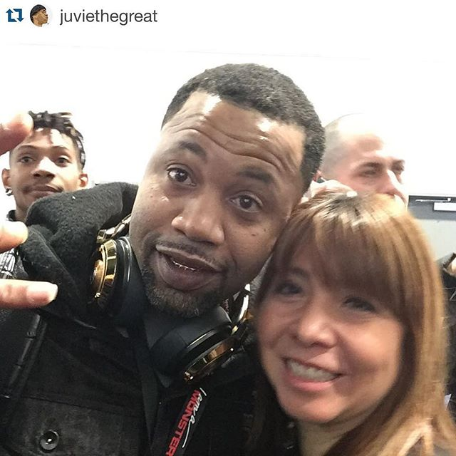 #Repost @juviethegreat ・・・ We made it to the #MonsterCES booth! Stop by #MonsterSelfieCase to get your pic with me! #CES2016 @monsterproducts