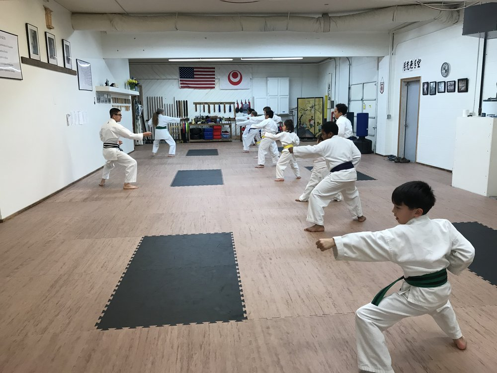 self-control - They can provide a safe outlet for excess energy. Contrary to what some might expect, martial arts don't encourage violent behavior. In fact, instructors often emphasize that fighting is a last resort. At the same time, kicking and karate chopping can allow kids to work out frustration or anger, while also practicing self-control.