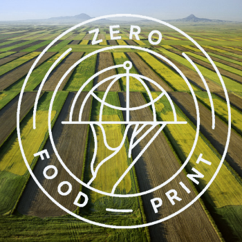 zeRO Foodprint    The Perennial is a for-profit business with a non-profit partner:  Zero Foodprint.  The goal of Zero Foodprint is to help restaurants lower and offset their greenhouse gas emissions by offering environmental impact assessments and recommendations, and then facilitating fundraisers to purchase food-related carbon offsets. Our co-founder Anthony Myint has been working with Chris Ying (Editor in Chief of  Lucky Peach ) and Peter Freed (enviromental consultant) to develop a charter group of restaurants to participate in Zero Foodprint.