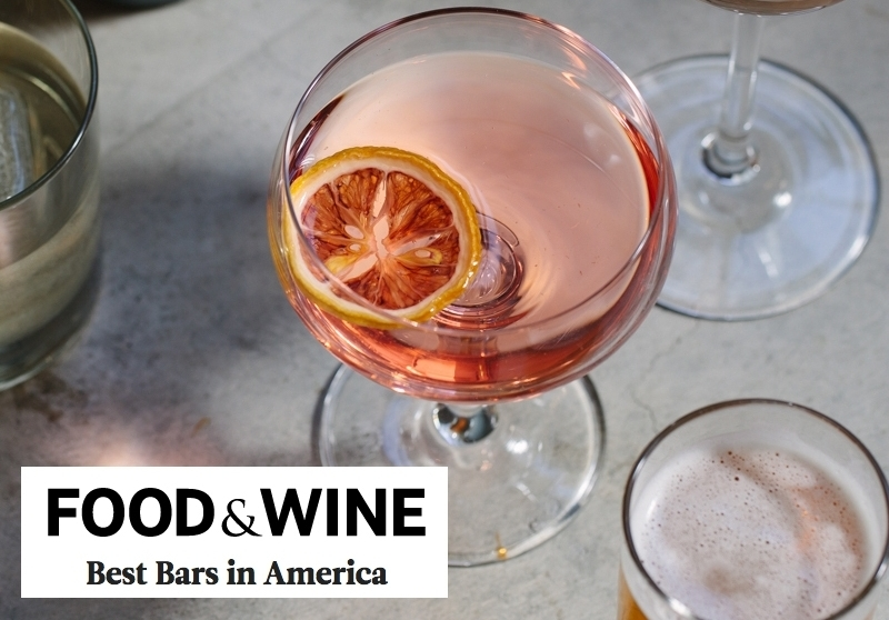 FOOD & WINE: Best Bars in America