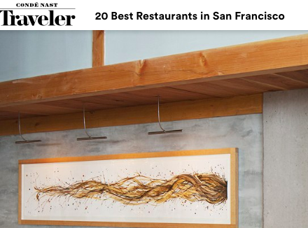 CN Traveler: 20 Best Restaurants in San Francisco
