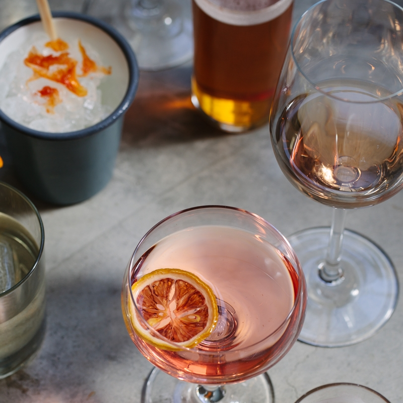 We offer happy hour specials on food and drinks 4-6pm in the bar Monday through Friday.    Wine, beer, cocktail, and non-alcoholic flights available.