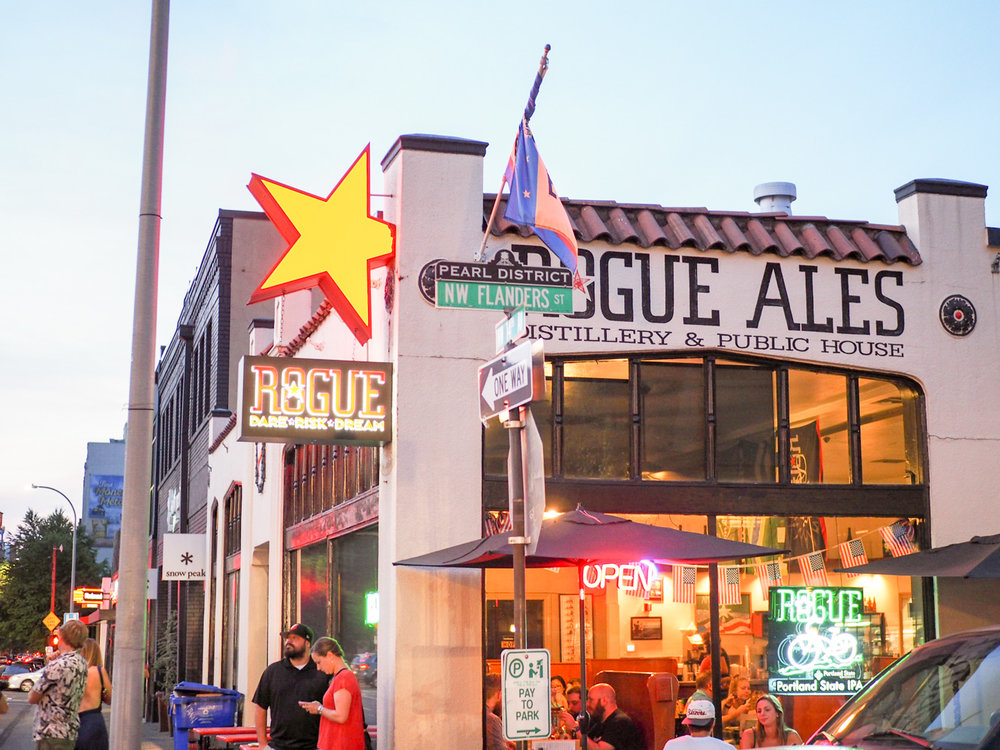 Rogue Ales in Portland, Oregon