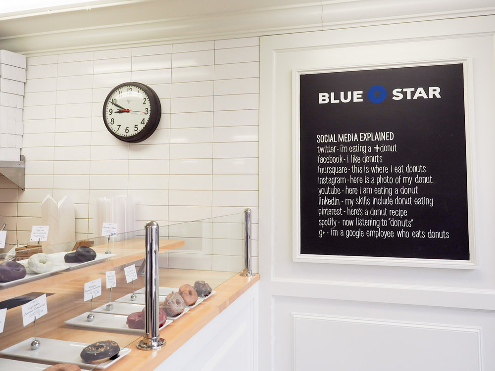 Blue Star donuts in Portland