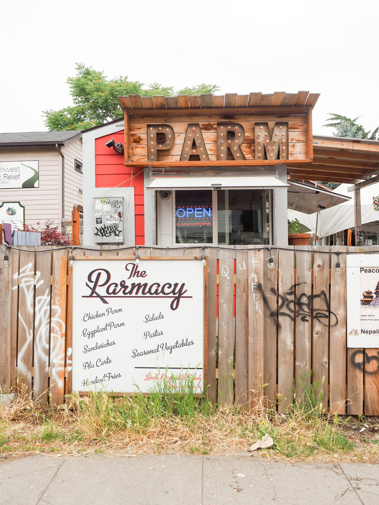 The Pharmacy food cart in Portland, Oregon