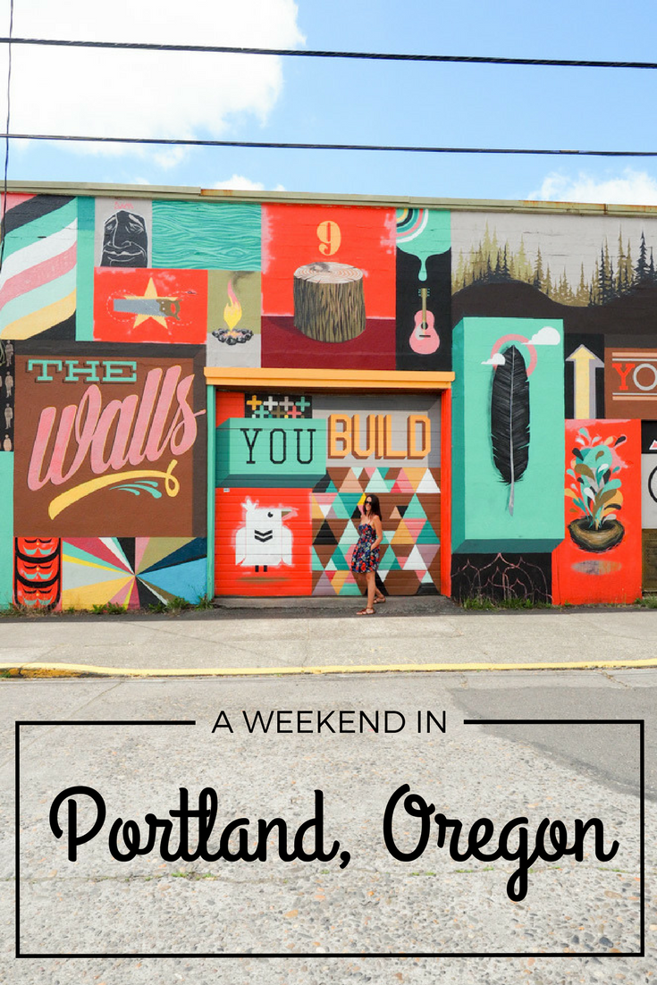 Spend a weekend in Portland, Oregon—the artsy city in the Pacific Northwest.