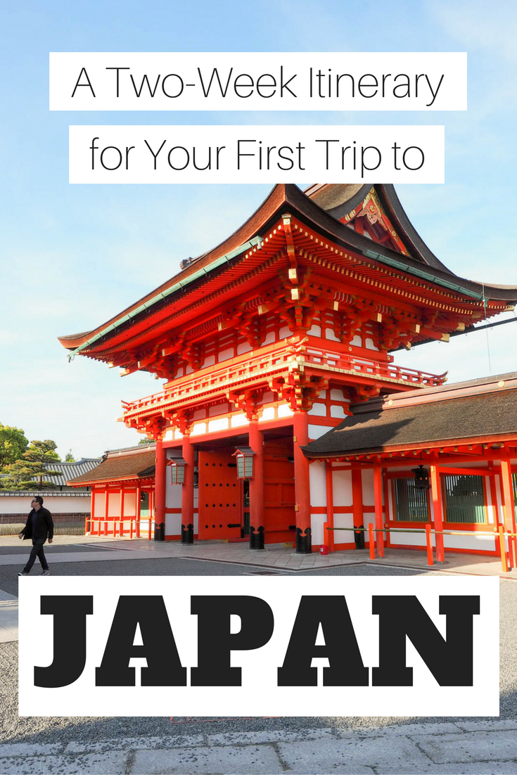 Two Weeks in Japan: An Itinerary for First-Timers
