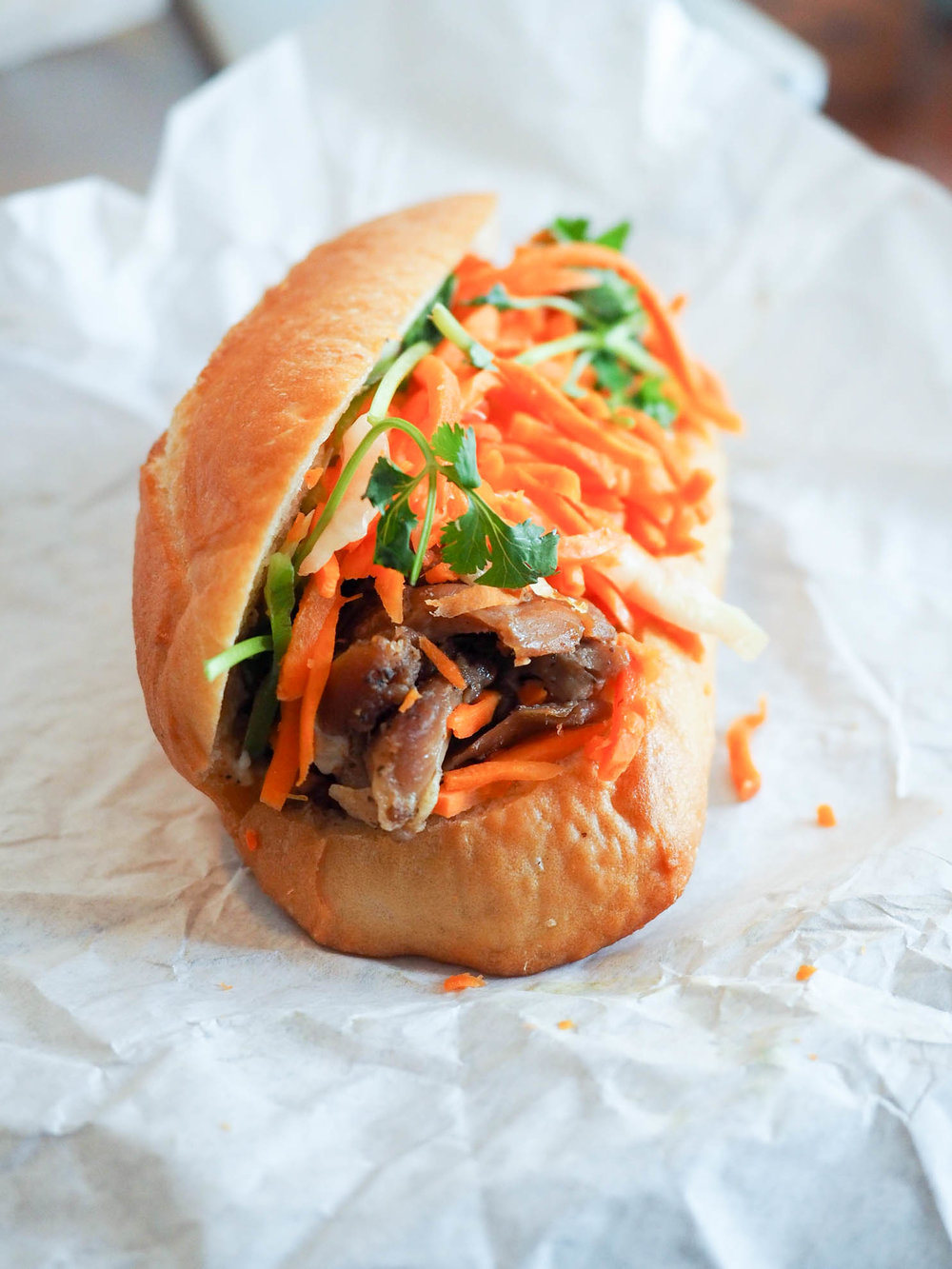 Banh Mi at Saigon Sandwich in the Tenderloin