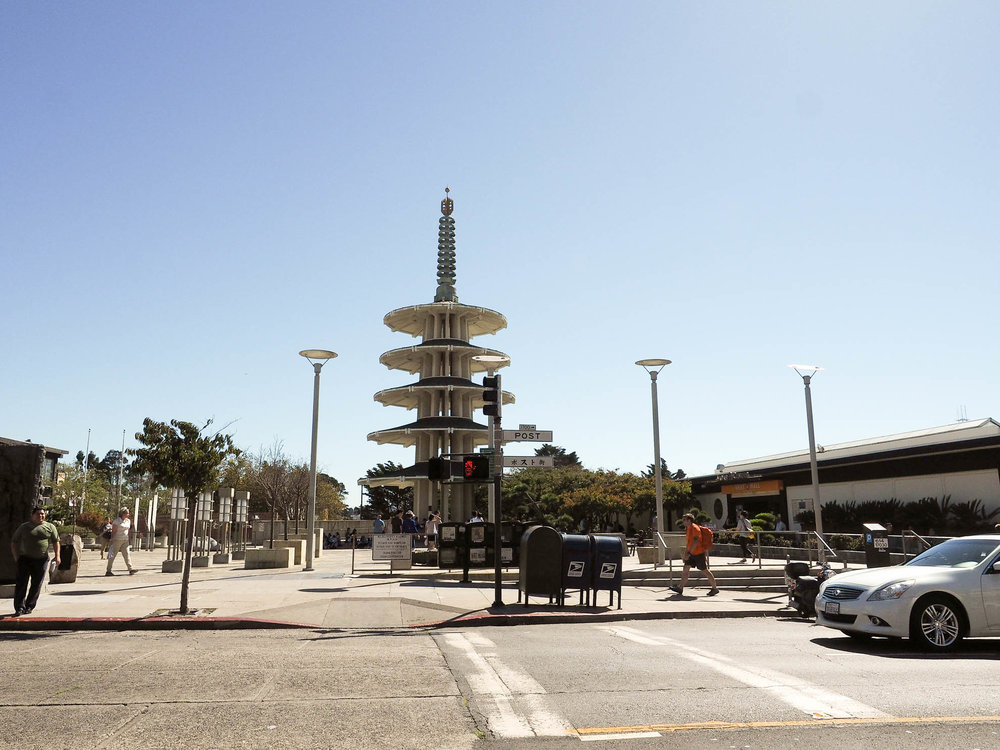 San Francisco has one of the only remaining Japantowns in the United States.