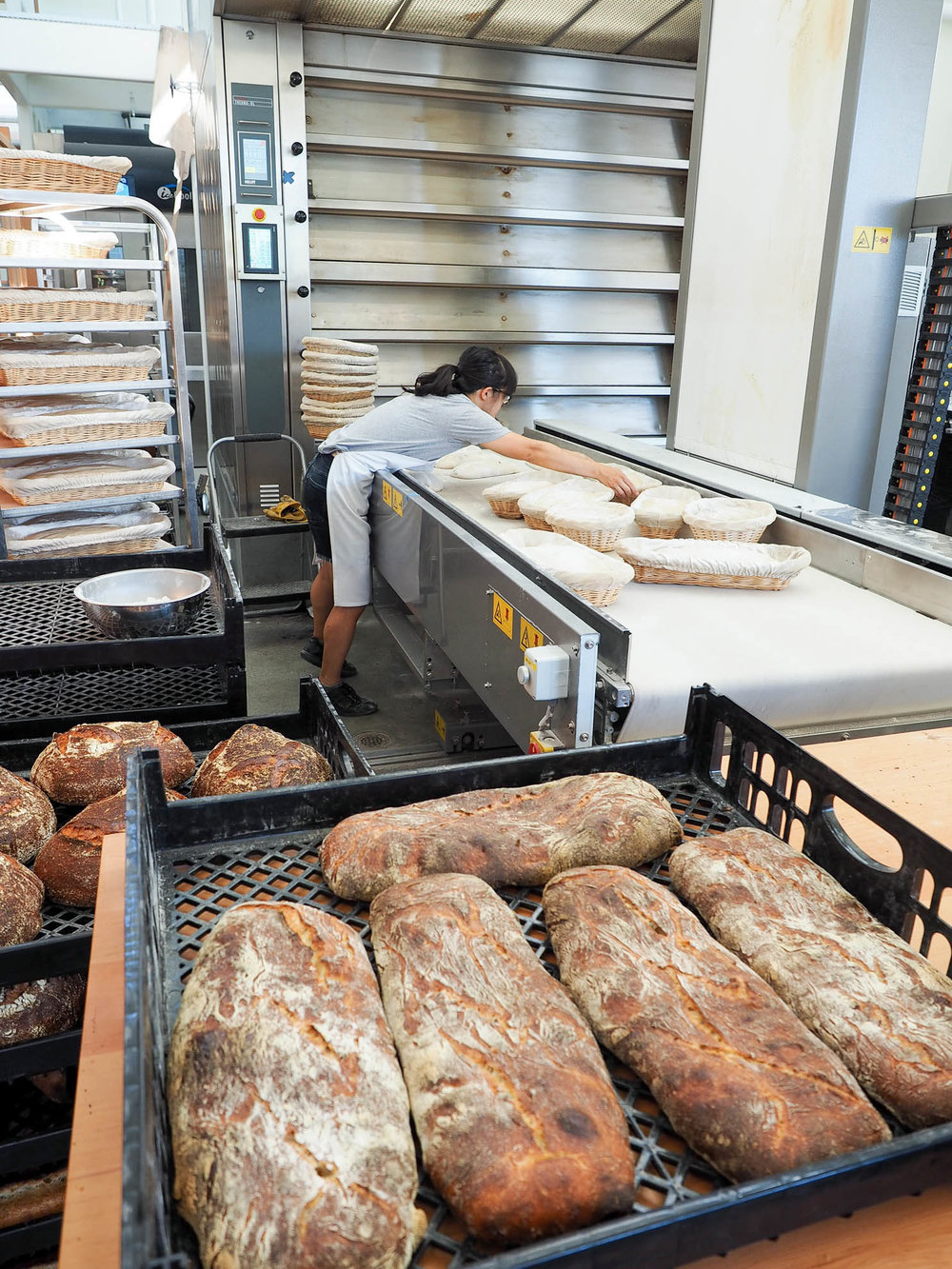 Behind the scenes at Tartine Manufactory in San Francisco