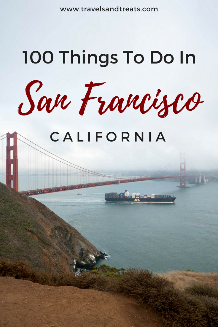 A Local's San Francisco Bucket List - 100 Things to do in San Francisco