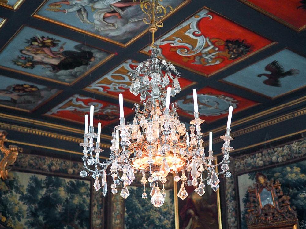 Visiting Rosenborg Castle in Copenhagen, Denmark