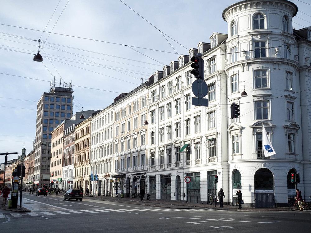 Walking tour in Copenhagen, Denmark