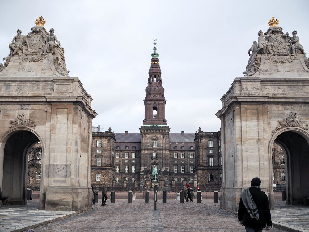 Winter in Copenhagen, Denmark