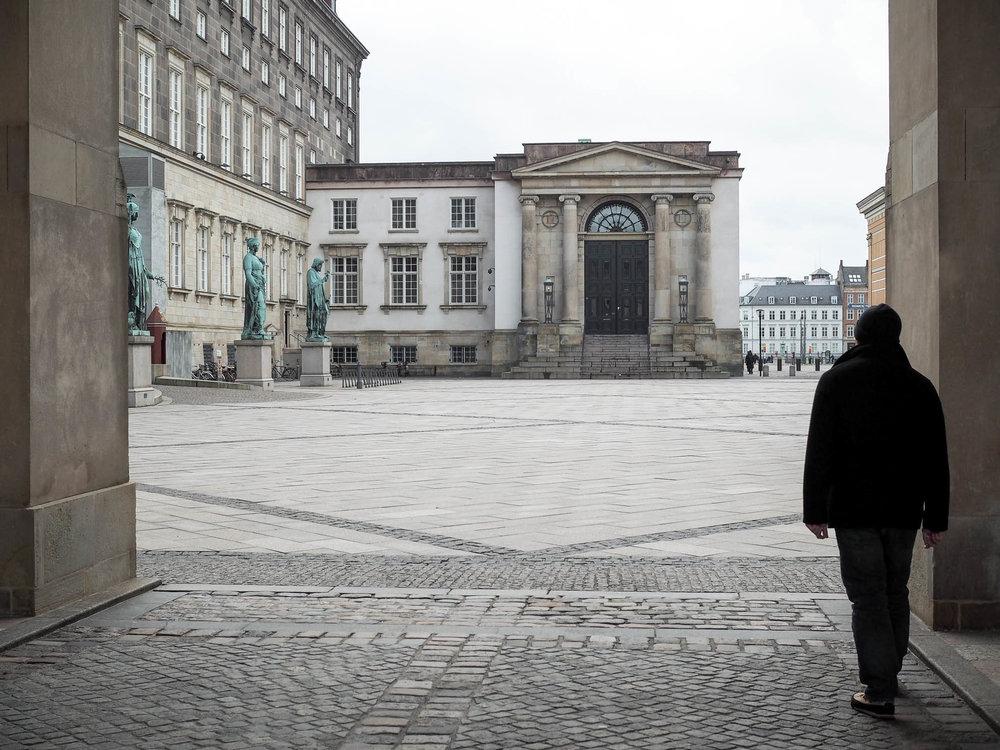One day in Copenhagen, Denmark