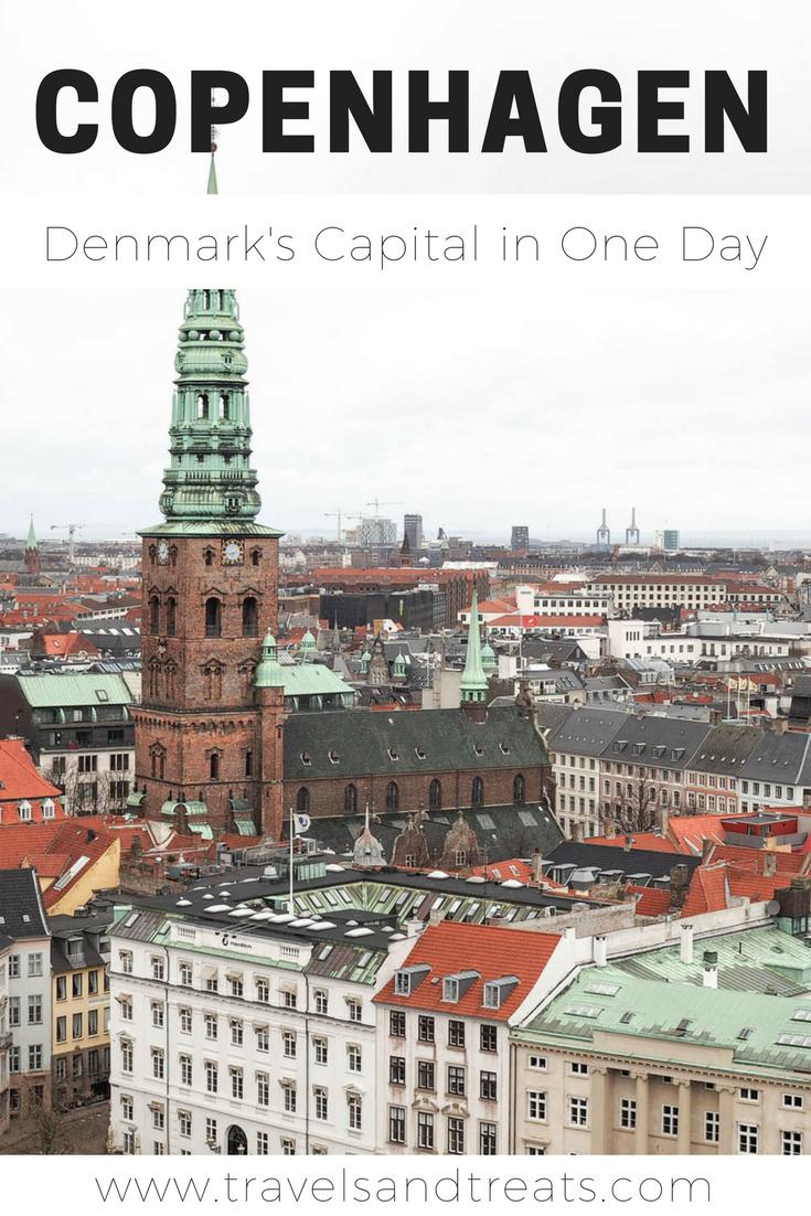 How to spend one day in Copenhagen, Denmark. A travel guide for 24 hours in Copenhagen.