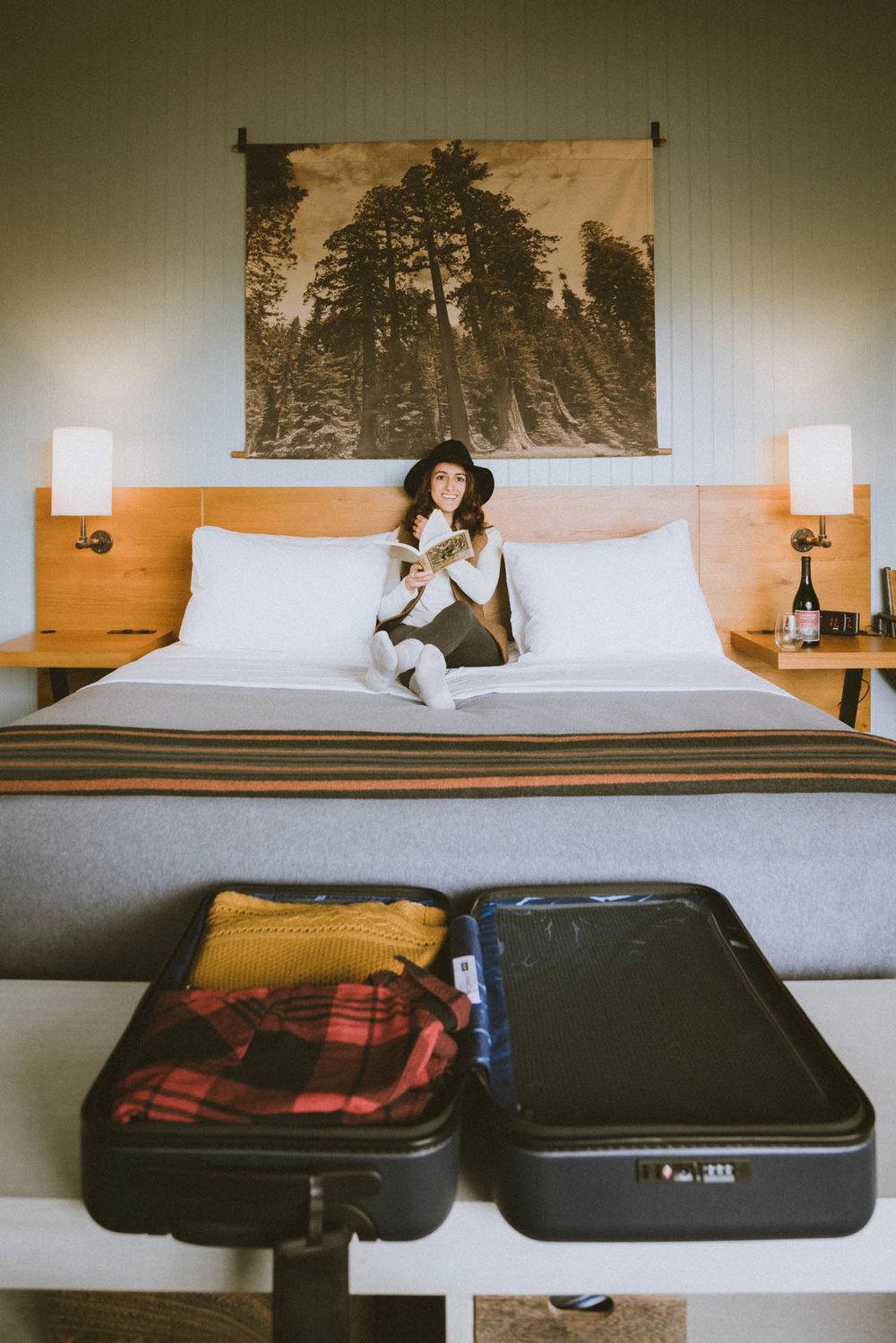 Two-bedroom hillside villa at Rush Creek Lodge outside of Yosemite National Park