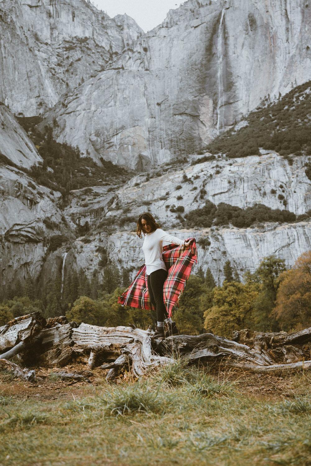 Photo shoot at Yosemite National Park