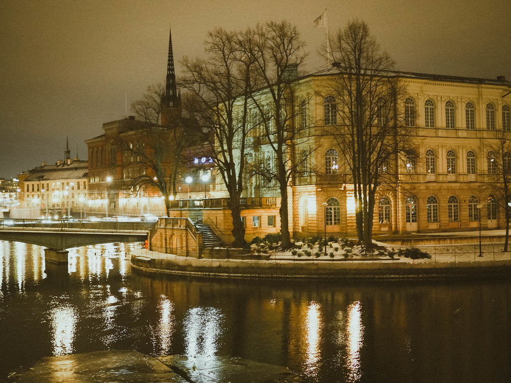 Winter in Stockholm, Sweden