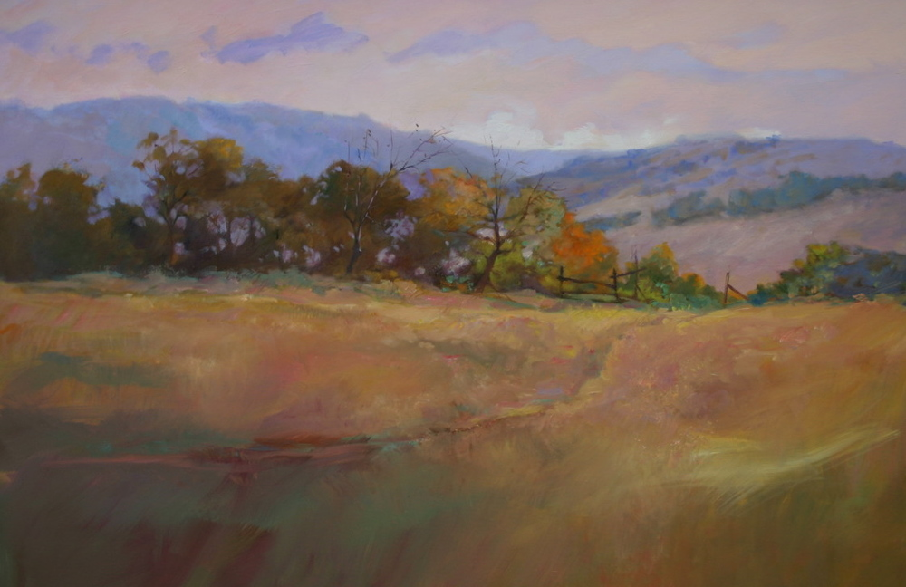 leelanau hills, autumn 24 x 36 oil on canvas