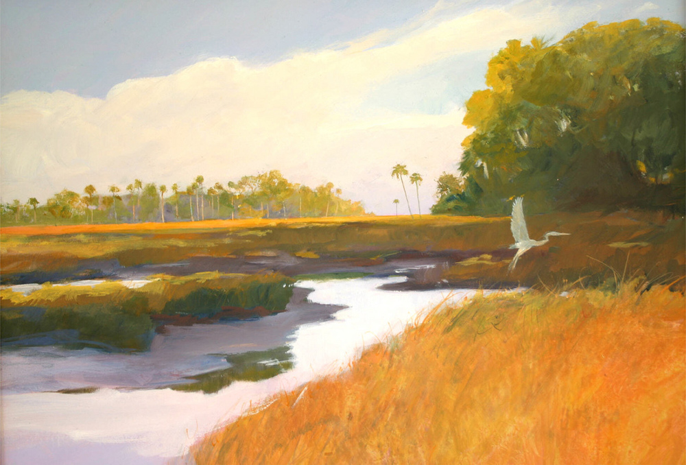 salt creek egret s o l d