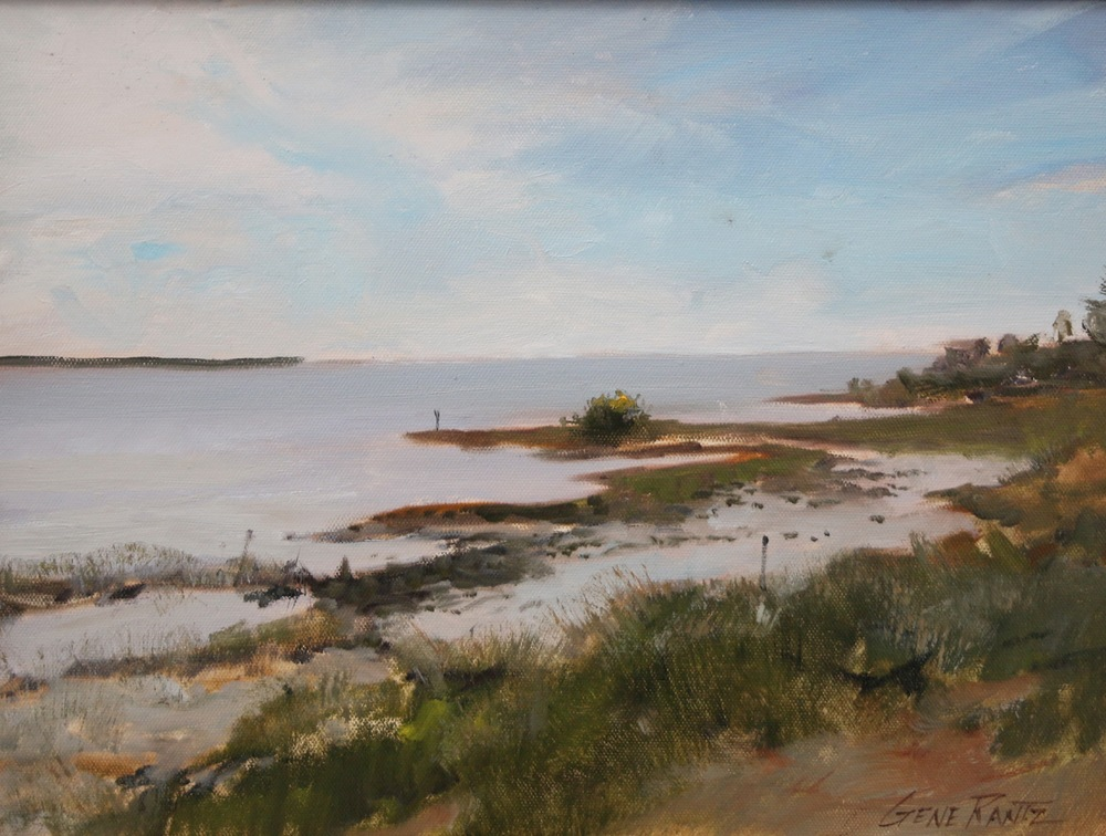 Cedar key view   12 x 16 Oil on canvas.  Island gallery, cedar key, florida  S O L D
