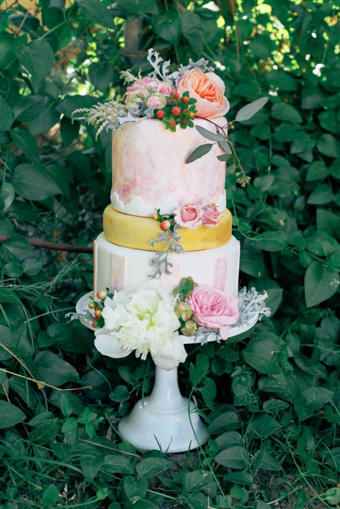 Watercolor Wedding Inspiration Arizona