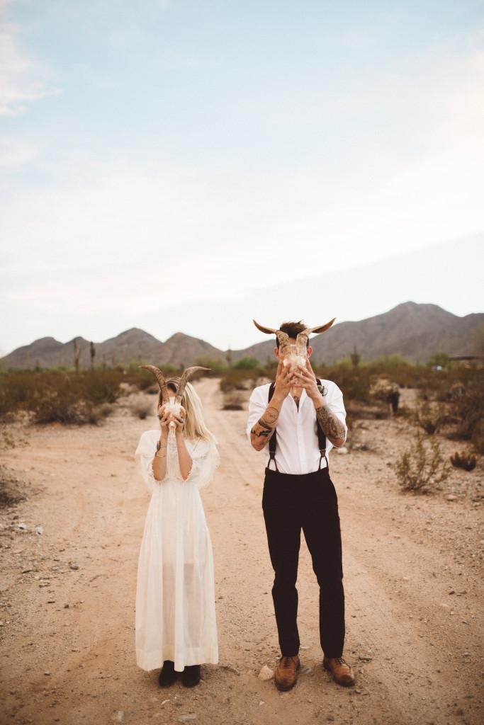 Southwestern Desert Wedding Inspiration Phoenix Arizona