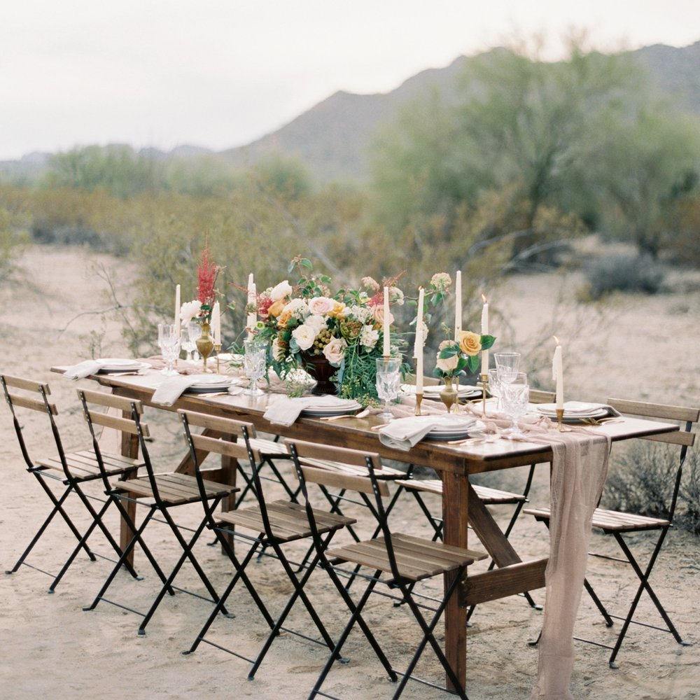 Colorful & Modern Desert Wedding Inspiration - Featured on magnolia rouge