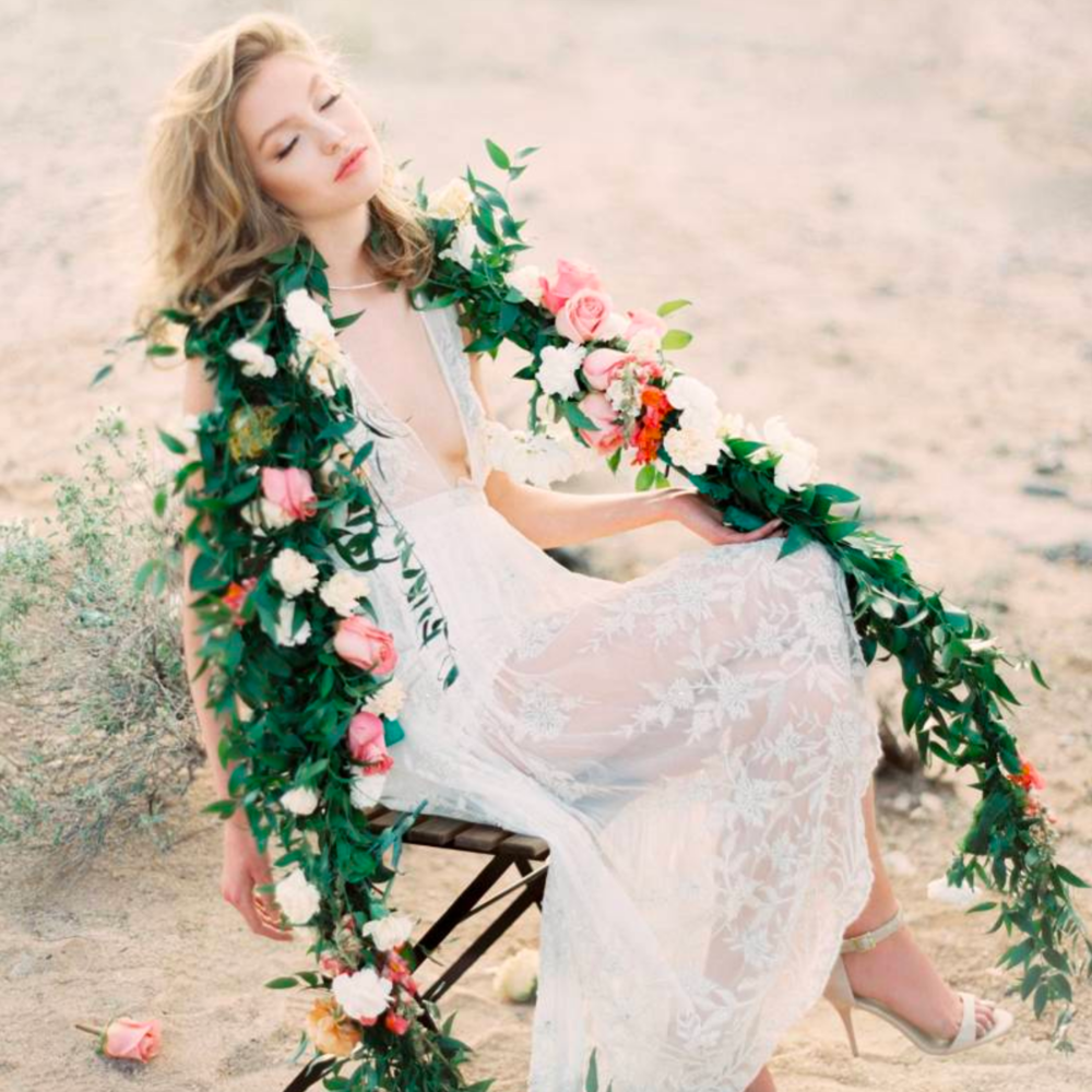 Eclectic Bridal Beauty in the Desert - Featured on Magnolia Rouge