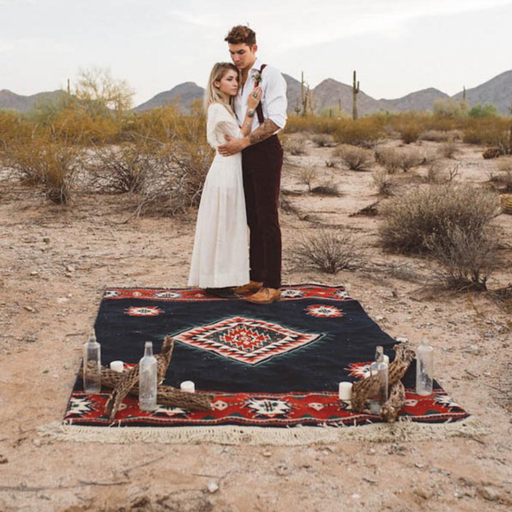 Southwestern Desert Inspiration - Featured on June bug weddings