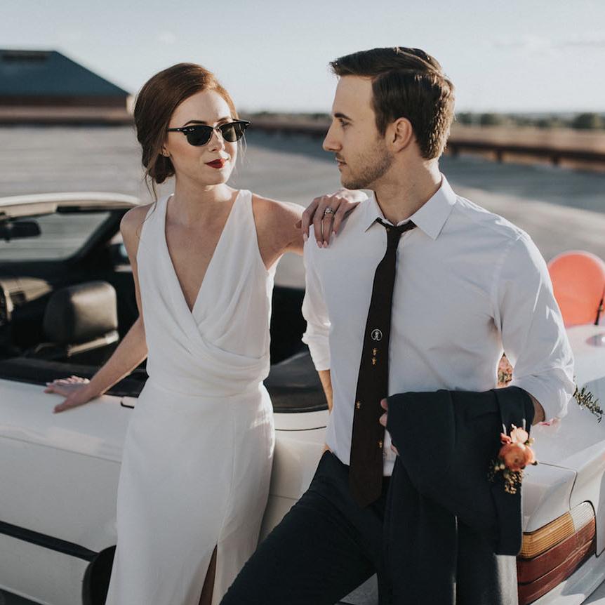 La La Land Wedding Inspiration - Featured on Green Wedding Shoes