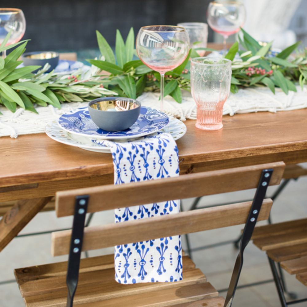 Pink & Cobalt Grecian Wedding Inspiration - Featured on Inspired By This