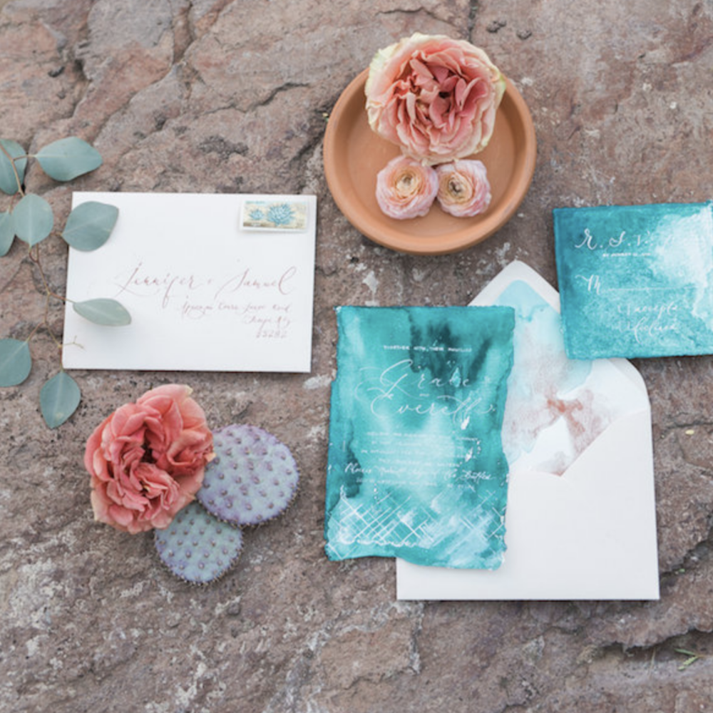 Southwest Meets Boho Styled Shoot - Featured on The Perfect Palaltte
