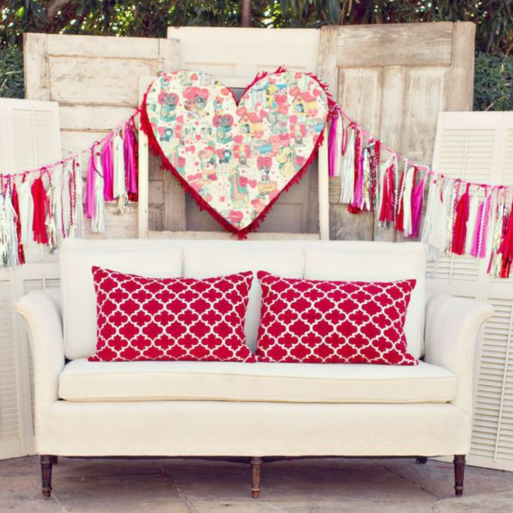 Vintage Valentine's Day Bridal Shower - Featured on Rustic Wedding Chic