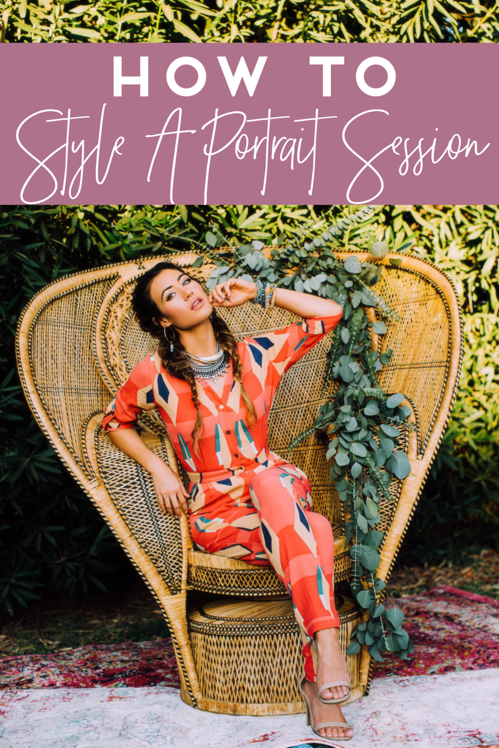 How To Design A Styled Portrait Session Tremaine Ranch Arizona Wedding Event Vintage Furniture Tableware Rentals