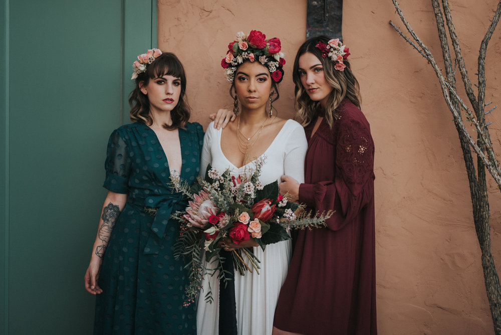 Frida Kahlo Wedding Tremaine Ranch Phoenix Arizona Wedding Specialty Vintage Event Rentals40.jpg