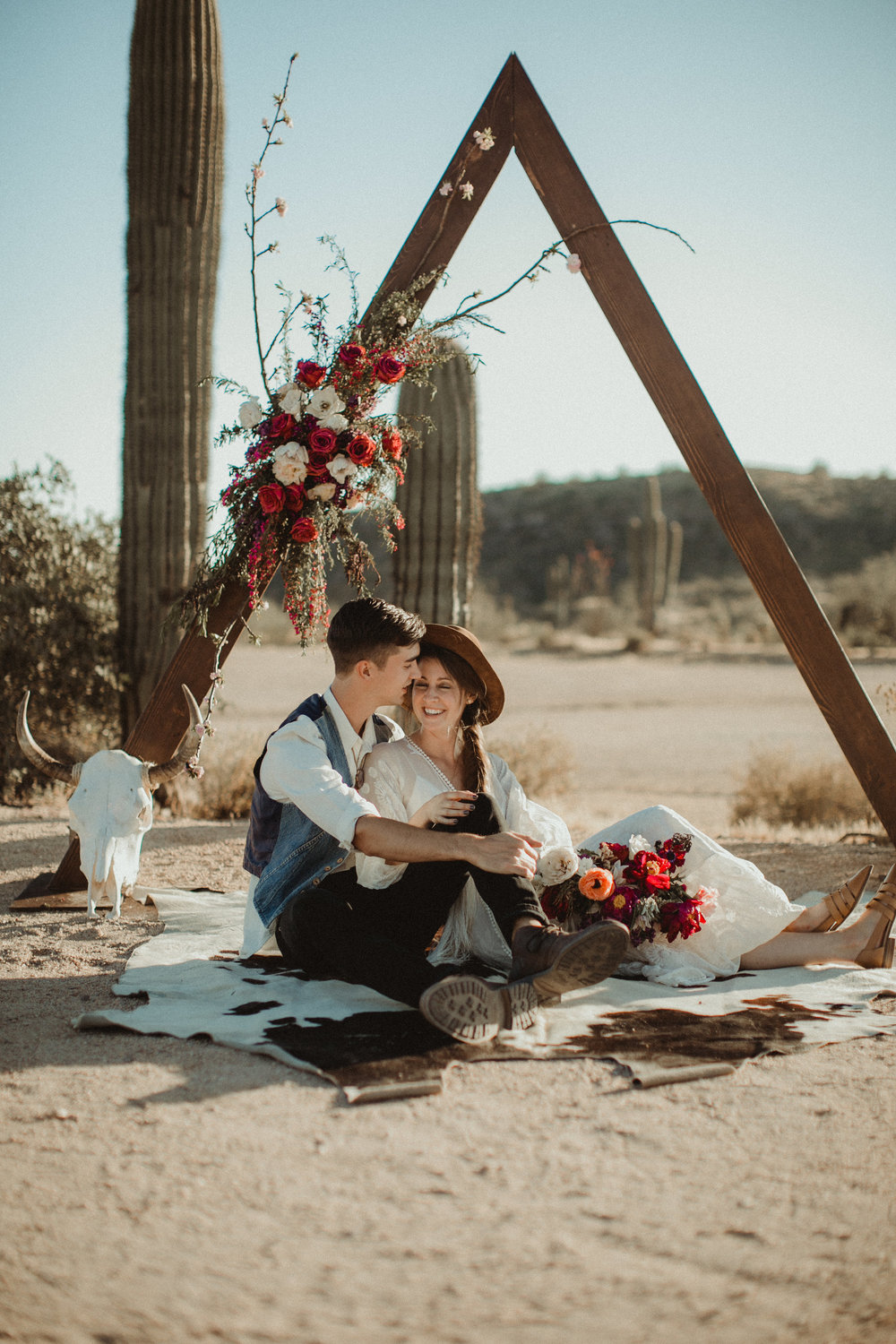 Desert Boho Vagabond Inspiration Shoot with Tremaine Ranch, From the daisies, Noir Floral, Phoenix, Arizona - Wedding & Event Rentals, Vintage, Specialty39.jpg